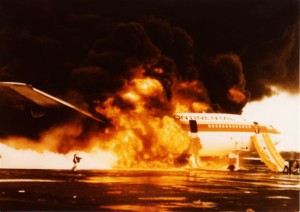 Plane crash wake-up call