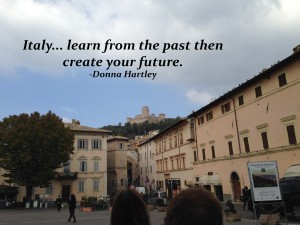 Italy and past