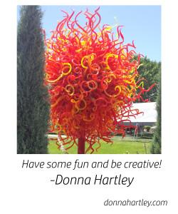 plastic tree and creativity